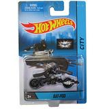 Hot Wheels City 2014 Colección De Motos Bat-pod W / Batma...