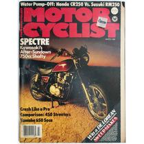 Motor Cycle Marzo 1982 Revista Motociclismo Kawasaki Colec2