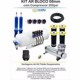Kit Suspension Neumatica Tebao 8mm + Bolsa Cônica - Lento