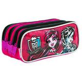 Estojo Escolar Monster High Sestini 064613