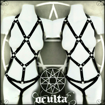 Arnes Lenceria Body Harness Dark Gothic Punk
