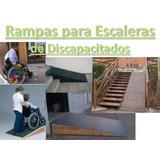Oferta Rampas De Madera Para Discapacitados 15alt X 60largo
