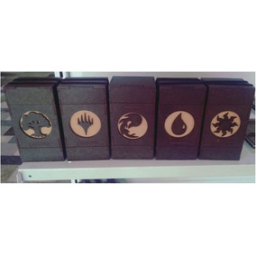 Deck Box Magic The Gathering Porta Cards Game Em Mdf Luxo