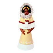 Frida Escultura De Barro, Aripo