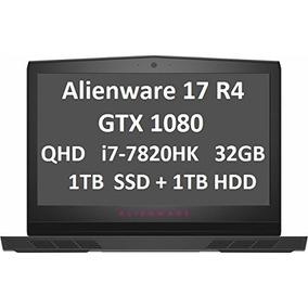 Notebook Alienware R4 17 I7-7820hk Gtx1080m-lacrado Garantia