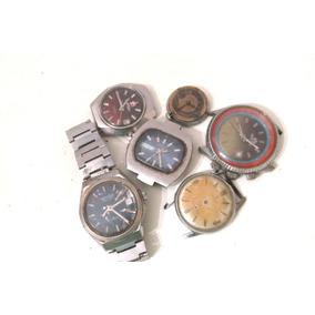 Lote De Relojes P/reparar O Repuestos Completos B223