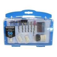 Set Kit Accesorios Gamma Minitorno 56 Piezas
