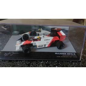 Miniaturas Ayrton Senna Rarissima Fw16 E Mp4/4
