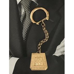 Chaveiro Em Ouro 18k-750, Peso: 7.4 Gramas