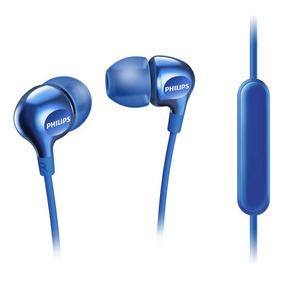 Auriculares Philips Con Micrófono She3705bl/00
