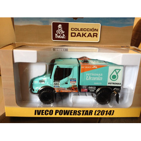Caminhão Iveco Petronas 2014 Coleção Rally Dakar
