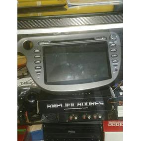Central Multimidia Honda Fit 2010 Em Diante Original...