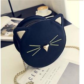 Bolsa Formato Black Cat Gato Preto Ombro Corrente