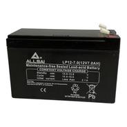 Batería Agm Lp 12-7.0  Allsai Garantía 1 Año