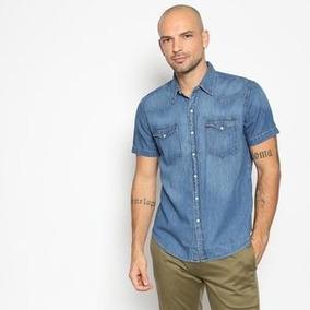 Camisa Jeans Levi S Xxl E L - Camisa Masculino no Mercado Livre Brasil 4c67890a406