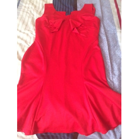 Lindo, Nuevo Vestido Rojo, Justo Para Navidad, Talla Xl, $40