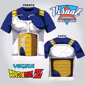 Dragon Ball Z 3d Camiseta Vegeta Estampa Total 3d