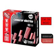 Caja 100 Mts Cable Iusa Rojo Thw Cal 16 Awg 100% Cobre