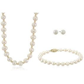 8abd842b528f Collar De Perlas Cultivadas Multicolor 6 14 Mm - Joyas y Relojes en ...