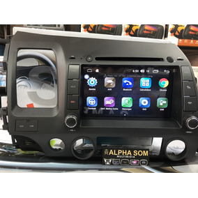 Central Multimidia Honda Civic 2006/2011 Android 6.0 S170