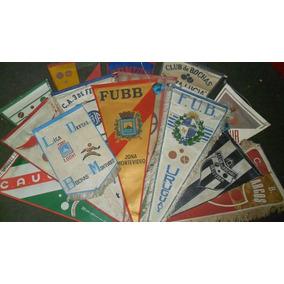 Banderines De Clubes De Bochas Y Ligas - Gran Lote De 20