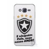 Capa Capinha Celular Samsung Galaxy J5 2015 Time Botafogo #2