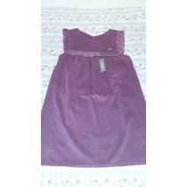 Jumper Vestido Talle 6 Corderoy Violet Puchuni Nena La Plata