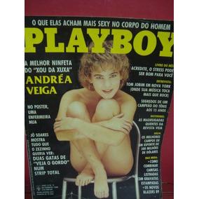 Revista Playboy Setembro 1988 Andréa Veiga