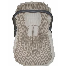 Capa Bebê Conforto+protetor Cinto+capa Carrinho+brinde