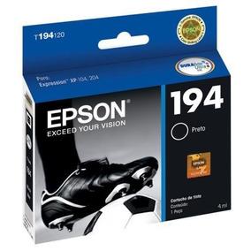 Cartuchos De Tinta Epson T194120-br Preto Durabrite Ultra