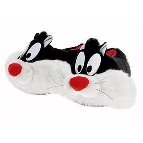 Pantufa Frajola Looney Tunes Ricsen 37/39 40/42 Unissex