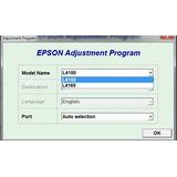 Reset Epson L4150, L4160