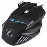 Mouse Profesional Gamer 7 Botones Óptico Usb