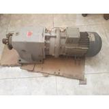 Motor Siemens Trifasico Con Reductor 220/440 3 Hp