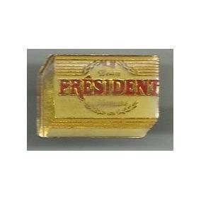 Pin Marcas Logotipo President