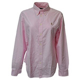 Polo Ralph Lauren Camisa De Corte Clásico Oxford, Mujer,...
