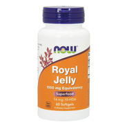 Geleia Real 1000 Mg Now 60 Softgels Importada Royal Jelly