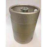 Barril Cerveza Artesanal 15 Lts Slim 304 Acero Inoxidable
