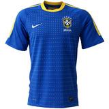 Camisa Brasil Away Nike Copa Do Mundo 2010 Azul Numero 7