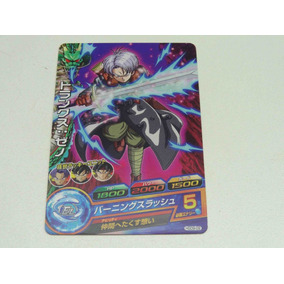 Cards Cartão Dragon Ball Heroes Trunks Hgd9-09