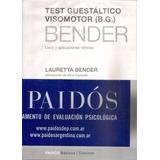 Test De Bender Manual Protocolo Y 9 Tarjetas Envio X Mail