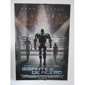 Poster Original - Gigantes De Acero... Doble Vista - Hugh Ja