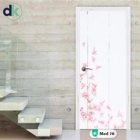 Adesivo Madeira Branca Para Porta Floral - Mad 70 Dk