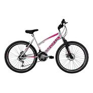 Bicicleta Dama Rin 26 Fdisco Suspensión 18 Cambios