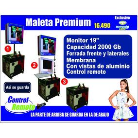 Rockolas Monterrey Venta, Linea Premium Modelo Maleta