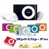 Mp3 Player Con Radio Fm +usb+audifono - Memoria De 8gb