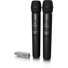 Behringer 2 Microfonos Inalambricos Ulm202usb Envio Gratis