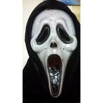 Máscara Scream Sangre Halloween Terror Oferta 50% Off Fiesta