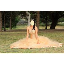 Vestido Dorado Para Xv