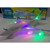 Avião Brinquedo Boeing 747 Boing Luxury Airbus Eletronico